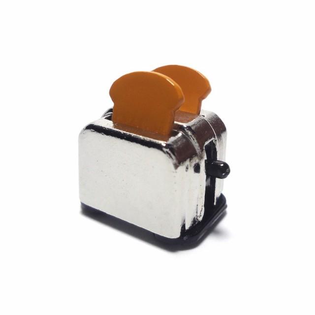 ミニチュア 雑貨 トースター パン キッチン キッチン用品 材料 キット アメリカン ドールハウス インテリア メール便送料無料 90052