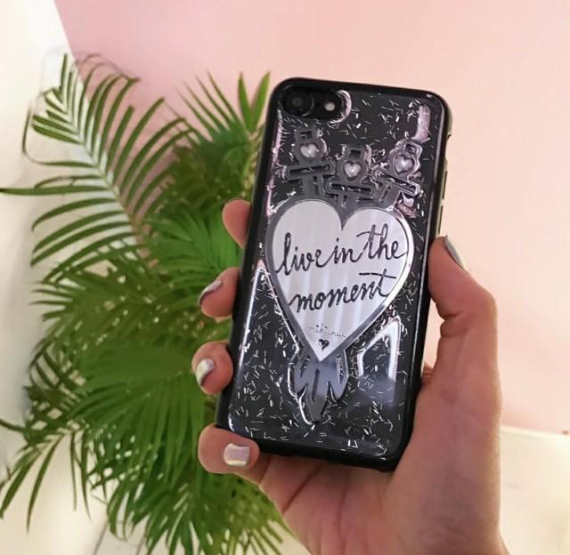 送料込み おしゃれスマホケース iPhoneXSMAX iphone iphoneケース 携帯ケース モバイルケース ハート クリアケース キラキラ グリッター