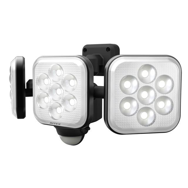 8W×3灯 フリーアーム式LEDセンサーライト | LED-AC3024
