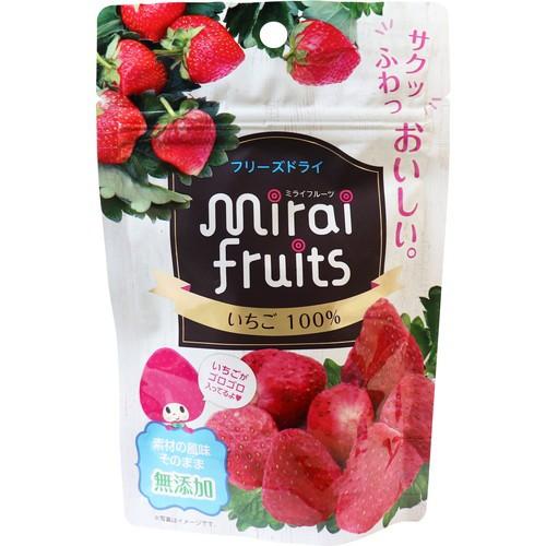 【ミライフルーツ いちご 10g】