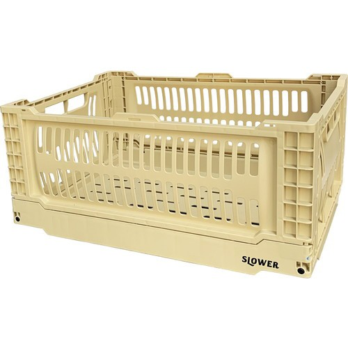 【FOLDING CONTAINER Bask(L) SAND SLW163】