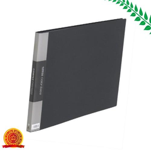 キングジム クリアファイル カラーベース A3 20ポケット 黒 150Cクロ[代引選択不可]