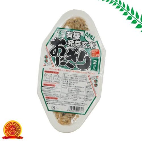 コジマ 有機発芽玄米おにぎり わかめ 180g[代引選択不可]