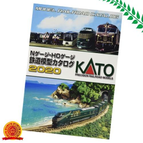KATO Nゲージ・HOゲージ 鉄道模型カタログ2020 25-000 鉄道模型用品[代引選択不可]