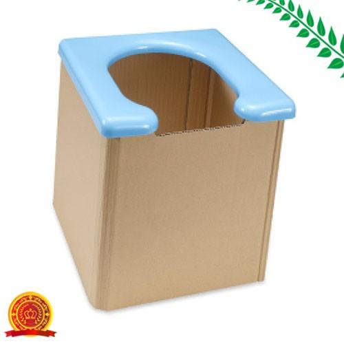 サンコー 非常用 簡易トイレ 日本製 組み立て簡単 耐荷重120kg 携帯 R-58[代引選択不可]
