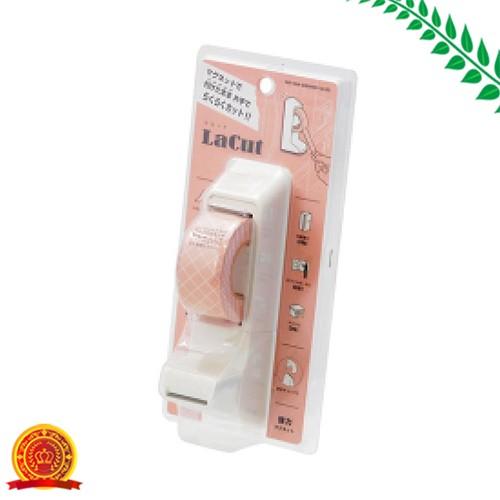 サンスター文具 マグネット付き テープカッター ラカット ホワイト S4832396[代引選択不可]