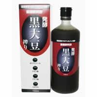 単品販売【発酵 黒大豆搾り 720ml】[代引選択不可]