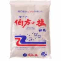 単品販売 伯方の塩 粗塩 750g [代引選択不可]