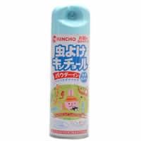 【虫よけキンチョール パウダーイン シトラスミントの香り 200mL 医薬部外品】[代引選択不可]