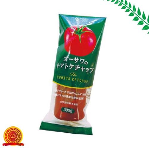 単品販売 オーサワのトマトケチャップ チューブ入り 300g [代引選択不可]