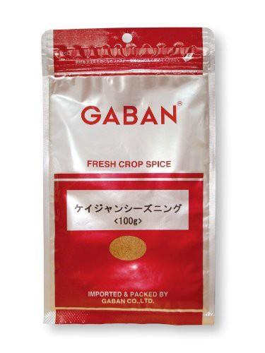【メール便送料無料】 GABAN スパイス ケイジャンシーズニング (袋) 100g×3袋   【ミックススパイス ハウス食品 香辛料 パウダ