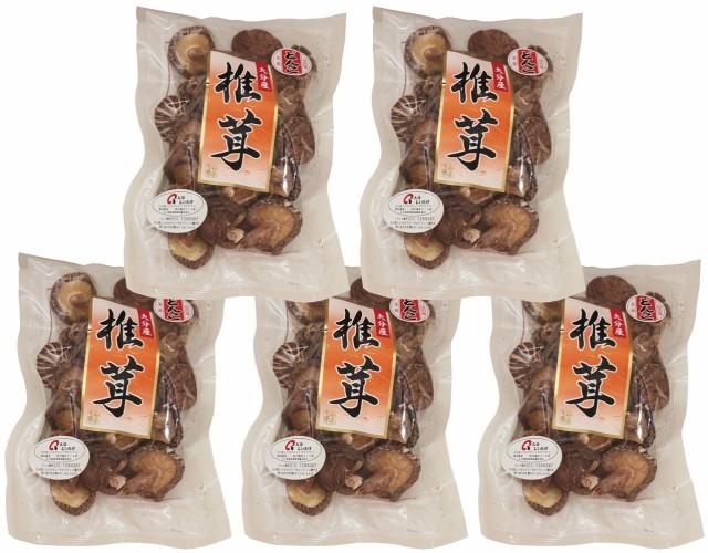 乾物屋の底力 大分県産 乾椎茸 500g   【全国宅配便 送料無料】【どんこ 原木栽培 乾燥しいたけ】
