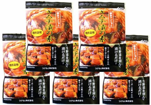 【宅配便送料無料】 奈良つけもん屋の キムチ漬の素 100g×5袋   【つけもと 国内加工 漬物】