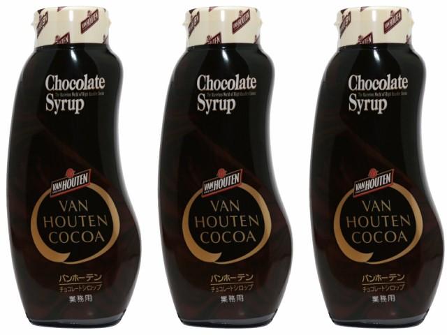 【宅配便送料無料】 バンホーテン チョコレートシロップ 630g×3個   【Van Houten 業務用 製菓材料 チョコ】