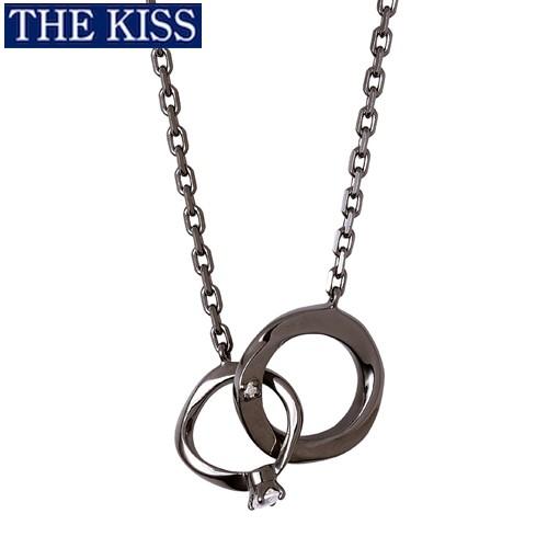 ペアネックレス THE KISS ブランド シルバー ネックレス メンズ単品 アクセサリー プレゼント ザキス ザキッス キッス クリスマス