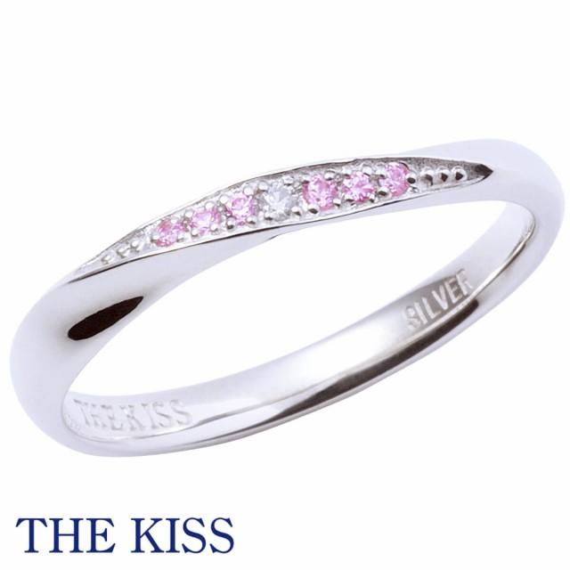 THE KISS ザ・キッス リング 指輪 レディース単品 シルバー ペアリング シンプル ダイヤモンド プレゼント ザ・キッス ザキッス キッス