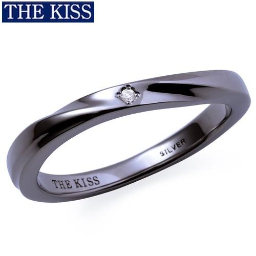 THE KISS リング 指輪 シルバー ペアリング メンズ単品 シンプル プレゼント ザ・キッス ザキッス キッス 彼氏 男性 誕生日 記念日 クリ