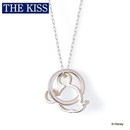 ディズニー ミッキー ネックレス メンズ 単品 ミッキーマウス アクセサリー THE KISS ザキス ザキッス カップル プレゼント 20代 30代 彼