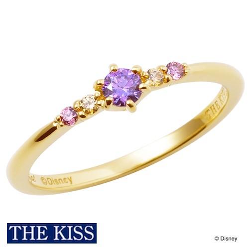 ディズニー ラプンツェル リング・指輪 ディズニープリンセス アクセサリー Disney THE KISS ザキス ザキッス プレゼント 誕生日 記念日