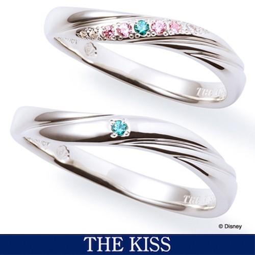 ディズニー アリエル ペアリング・指輪 ペアグッズ リトルマーメイド ディズニープリンセス アクセサリー THE KISS ザキス ザキッス プレ