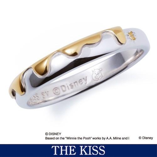 ディズニー リング 指輪 プーさん はちみつ くまのプーさん グッズ メンズ レディース アクセサリー THE KISS ザキス ザキッス プレゼン
