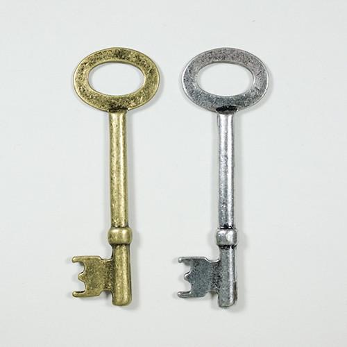 カギ CP-163 1個 キー 鍵 アクセサリー パーツ ペンダント アンティーク チャーム 材料 手芸 素材