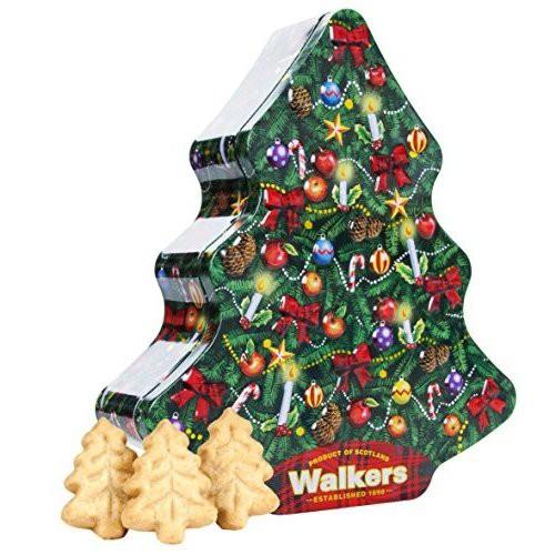 [送料無料][3個]ウォーカー クリスマスツリー缶 225g 賞味期限2020.11.30【訳あり・賞味期限間近】