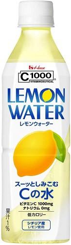 C1000 レモンウォーター 500ml×24本 PET
