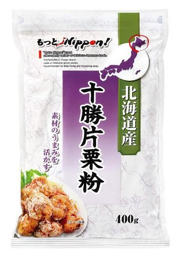 [10個]もっとNippon! 北海道産十勝片栗粉 400g 賞味期限2020.02.05