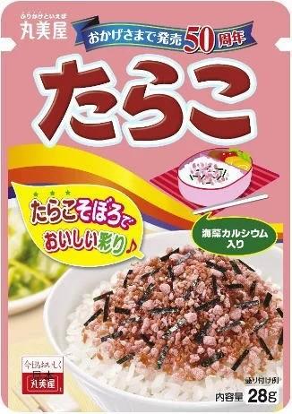 [送料無料][40個]丸美屋 たらこニューパック28g 賞味期限2021.03.03