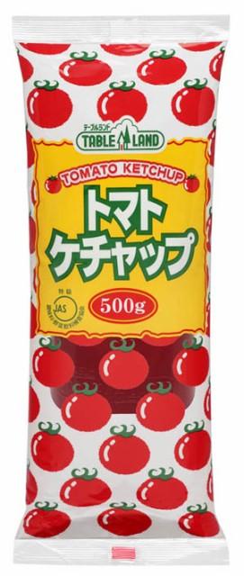 [送料無料][20個]テーブルランド トマトケチャップ500g 賞味期限2021.11.29以降
