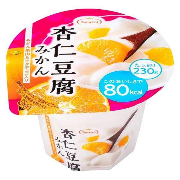 [送料無料][48個]たらみ 杏仁豆腐みかん 80kcal230g 賞味期限2021.02.02以降