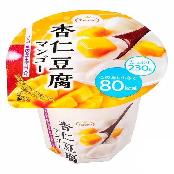 [送料無料][48個]たらみ 杏仁豆腐マンゴー 80kcal230g 賞味期限2021.02.02以降