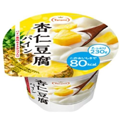 [送料無料][48個]たらみ Tarami 杏仁豆腐パイン80kcal230g 賞味期限2021.02.23