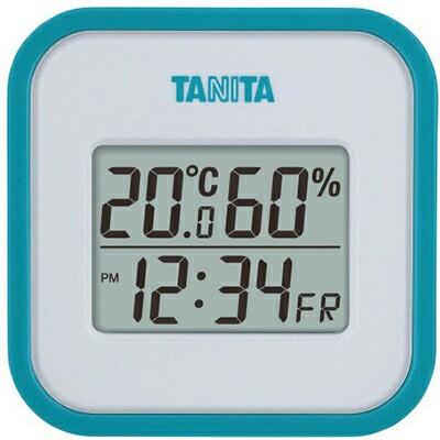 デジタル温湿度計 ブルー(TT-558-BL) 1台 【 タニタ 】