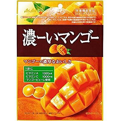 濃ーいマンゴー 88g×6 (栄養機能食品) 【 アサヒグループ食品 】 [ 菓子 キャンディ キャンデー あめ 飴 機能性キャンデー 機能性キャ