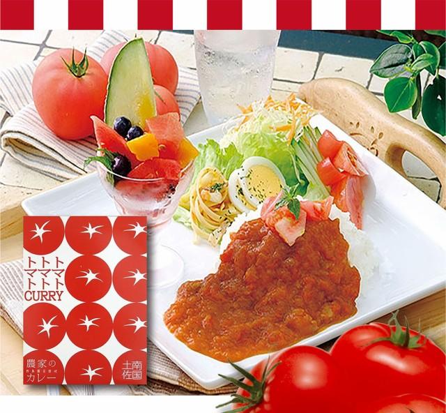 トマトカレー 200g×2箱 ゆうパケット送料無料 |レトルト 中辛 フルーツトマト カレー