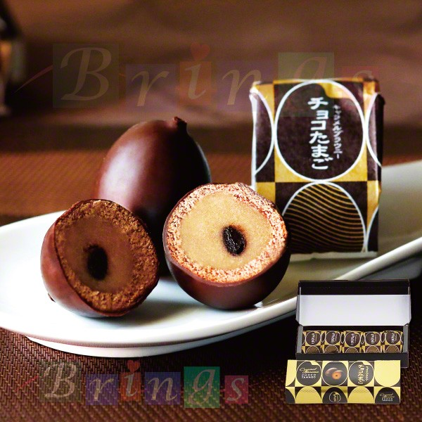 チョコたまご  キャラメル ブラウニー 5個入 店舗限定  銀座たまや 専用おみやげ袋(ショッパー)付き