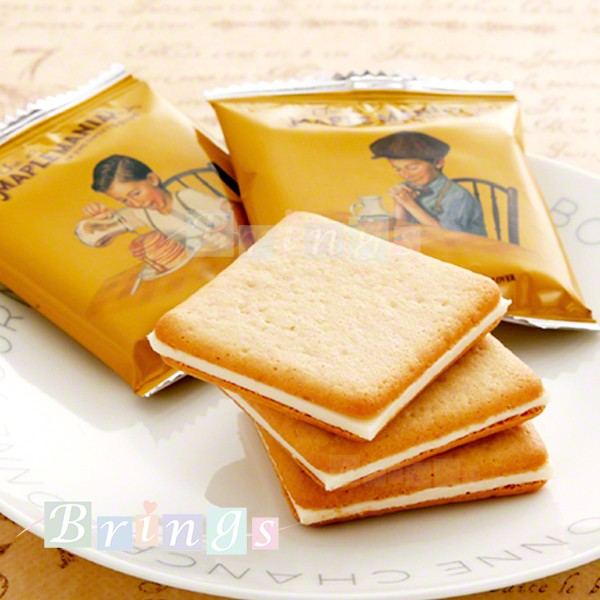 メープルマニア メープル バタークッキー 18枚入 THE MAPLE MANIA FINE SWEETS STORE 専用おみやげ袋(ショッパー)付き