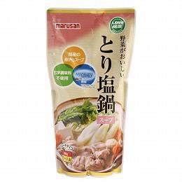 マルサン 野菜がおいしいとり塩鍋スープ 600g 6袋 冬期限定品