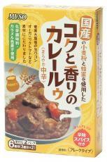 コクと香りのカレールゥ・まろやか中辛(80g×2) ムソー