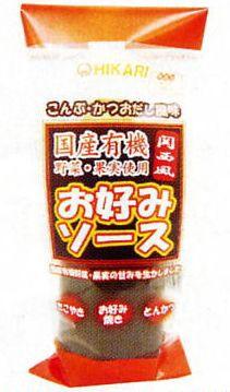 ヒカリ お好みソース 関西風 300g