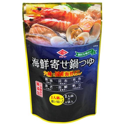 チョーコー 海鮮寄せ鍋つゆ 30ml×4 冬期限定品