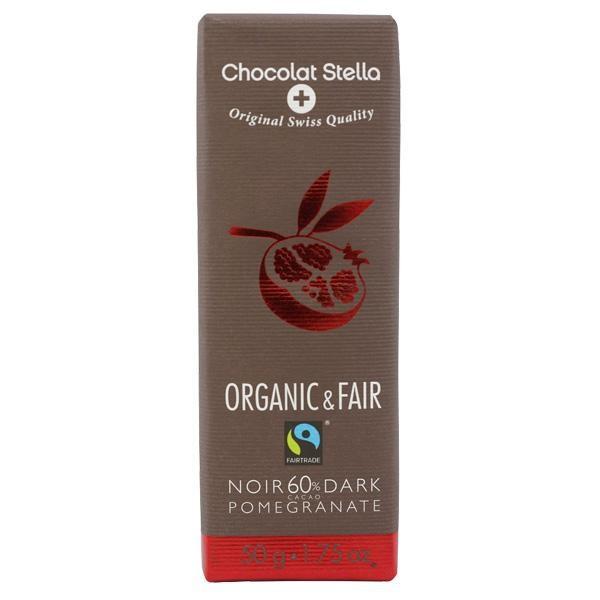 ダークザクロ チョコレート 50g Chocolat Stella オーガニックチョコレート