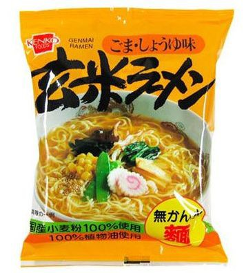 健康フーズ 玄米ラーメン ごま・しょうゆ味 100g