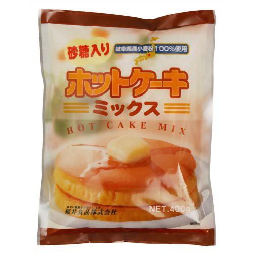 桜井 ホットケーキミックス砂糖入 400g