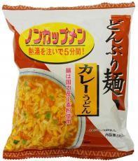 トーエー どんぶり麺・カレーうどん 86.8g 4袋