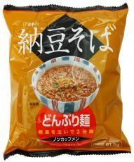 トーエー どんぶり麺・納豆そば 81.5g 4袋