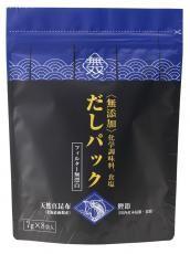ムソー 無添加・だしパック(鰹昆布だし)[青]7g×8