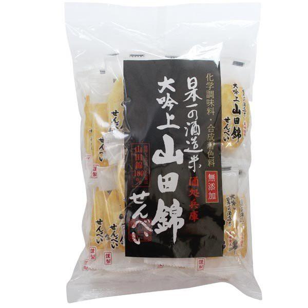 無添加・山田錦せんべい袋入 塩(30枚) アリモト